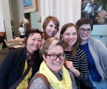 Hanging out with Kathy from SLJ and awesome Skogee Library Peeps