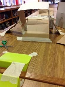 Cardboard ramp
