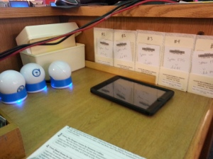 Freeplay Spheros and Library Cards